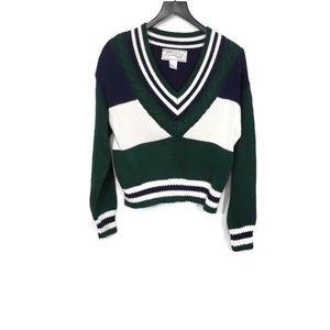 Vintage Crop Sweater Size M